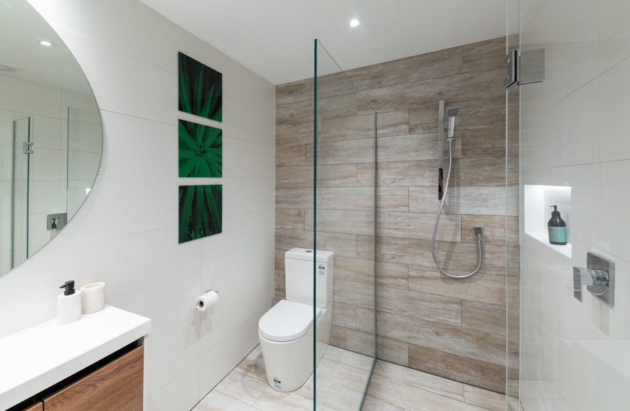 Two sided shower for Bathroom direct nz