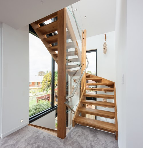 Metro Performance Glass Double glazed window & glass stairwell with interlinking rail.jpg